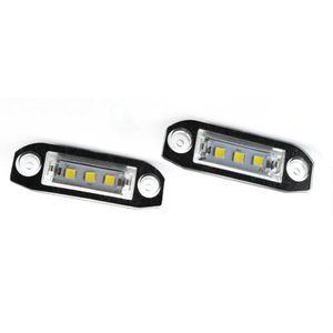 2 шт. светодиодные номерные знаки для Volvo S80 Xc90 S40 V60 Xc60 S60 C70 V50 Xc70 V70