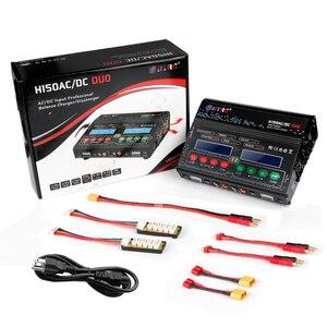 Image 3 - HTRC cargador de equilibrio de alta potencia H150 DUO AC/DC 300W 12Ax2, descargador para Lilon/LiPo/LiFe/LiHV/Nimh/Nicd