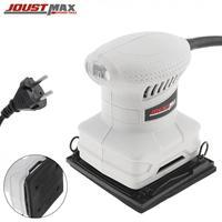 110x100mm 13500rpm praça lixadeira elétrica máquina com lixa interruptor de controle segurança para superfície moagem polimento