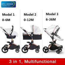 1 in 2/3 Baby Stroller Light Folding Two Way Push Cart Portable Trolley Umbrella Pushchair Buggy Jogger Travel System For Kids