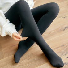 Autumn and Winter Cotton Solid Color Leggings One Thickening Stepping Feet Wearing Slim Pants XL Ladies Legging