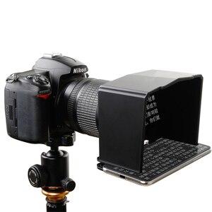 Image 3 - Smartphone טלפרומפטר עבור Canon Nikon Sony DSLR מצלמה תמונה סטודיו עבור Youtube ראיון וידאו לחשן צג טלפרומפטר