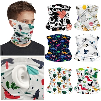 Kids Bicycle Seamless Bandanas Summer Children Outdoor Sport Headwear bandana Ride Bike Magic Scarf Cycling Headband Sportwear image