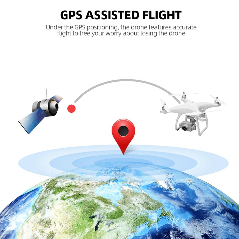 WL XK X1 Drone GPS dos eje cardán estabilizador 5G WiFi HD 1080P Cámara Drones profesional RC quadcopter Dron del F11 pro SG906 X6 - 4