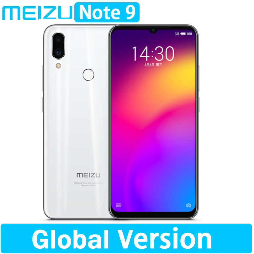 "En stock Version mondiale meizu Note 9 4GB 64/128GB 48.0MP caméra empreinte digitale Snapdragon 675 Octa Core 6.2 ""2244x1080 p FHD"