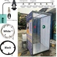 Nebel Spray Für Booth Sterilisieren Im Freien Stehen Vernebler Und Outdoor Kühlung Desinfektionsmittel Spray Nebel Maschine T Stecker Düse-in Sprühgeräte aus Heim und Garten bei