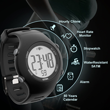 Heart Rate Monitor Sport Fitness Watch Favor Outdoor Cycling Sport Waterproof Wireless With Chest Strap wireless heart rate monitor sport watch black