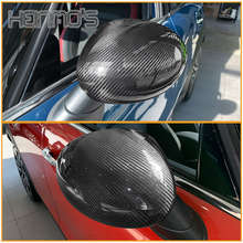 цена на For MINI Countryman F60 Carbon Fiber Replacement For MINI Cooper F54 F55 F56 Rearview Mirror Shell Cover Car Sticker Accessories