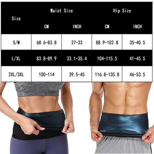 Men Polymer Sauna Sweat Waist Trainer Slimming Body Shaper Waist Trimmer Belt Workout Belly Compression Slim Corset Weight Loss 1