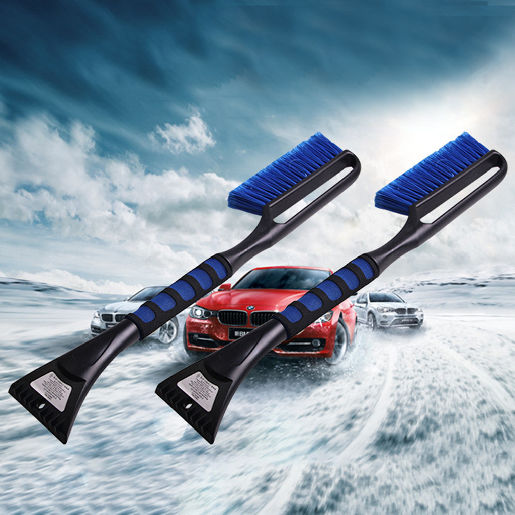Car Vehicle Snow Ice Scraper Snow Brush Shovel Removal Brush Winter Tools For The Car Windshield Deicing Cleaning Scraping Tool