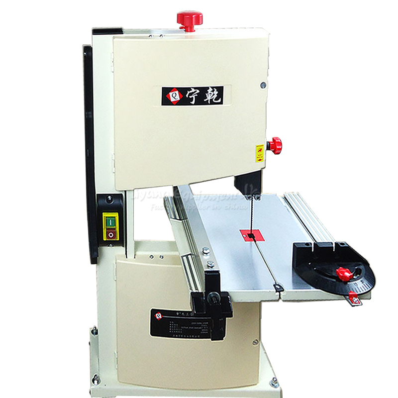220V 9 Inch Metal Band Sawing Machine Small Woodworking Sweep-saw For Beads Wood Cutting