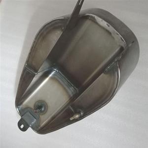 Image 3 - 오토바이 수정 된 연료 오일 탱크 가스 레트로 가솔린 탱크 야마하 Virago XV400 XV535 XV 400 535 5 리터/12 리터