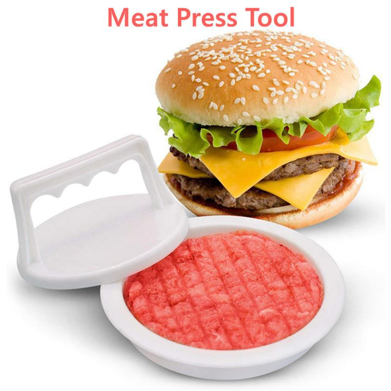 Mold Patty-Maker Beef-Grill Hamburger-Press Kitchen-Tool Meat Food-Grade Round-Shape