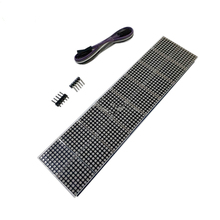 MAX7219 dot matrix module 16 dot matrix 2*8 display module MCU control LED driver module