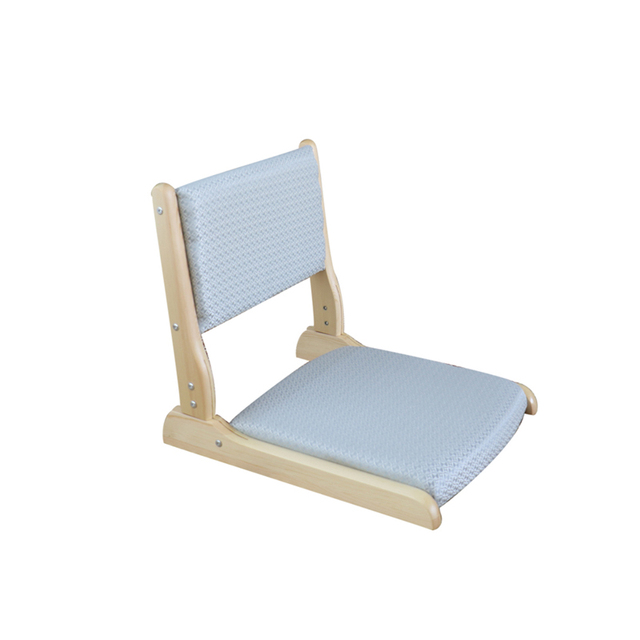 Solid Wood Tatami Chair, Japanese Stool And Room Chair, Legless Chair, Backrest, Stepping On Rice Floor, Floating Window, Foldin