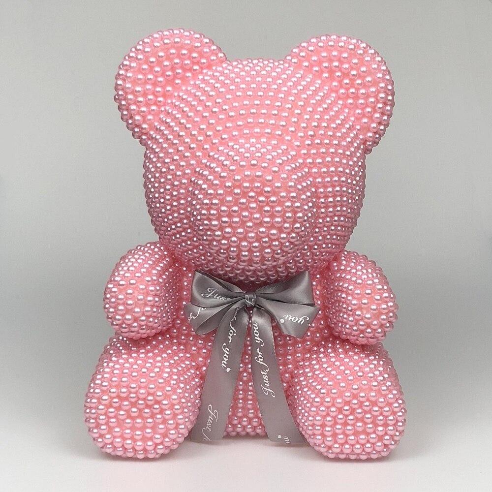 22cm ROSE BEAR FLOWER TEDDY Bear GIFT ARTIFICIAL ROSE BIRTHDAY CHRISTMAS GIFT