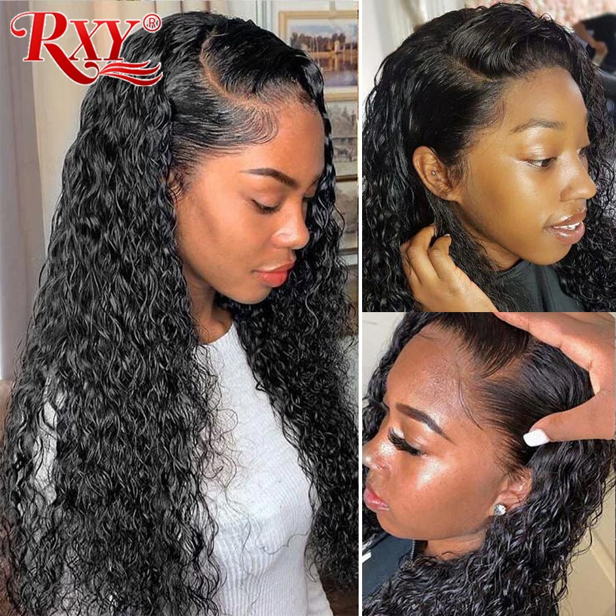 360 Lace Frontal Wig Human Hair Water Wave Wig Wet And Wavy Lace Front Wig Brazilian Remy Lace Front Human Hair Wigs For Women