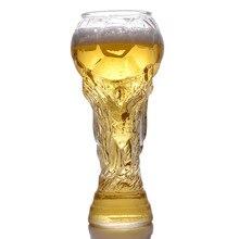 Стиль пивное Стекло Творческий стаканчик Кубок мира боросиликатный материал красочная коробка упаковка