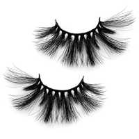 Natural 3D False Eyelashes fake lashes makeup kit Mink Lashes extension mink eyelashes Black Mink Hair Fake Eyelashes Thick Hot
