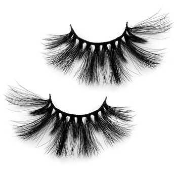 Natural 3D False Eyelashes fake lashes makeup kit Mink Lashes extension mink eyelashes Black Mink Hair Fake Eyelashes Thick Hot