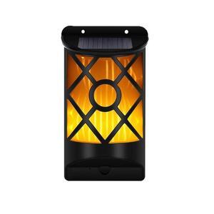 Напольный Декор настенный светильник солнечный датчик пламени светильник IP65 водонепроницаемый теплый ночной Светильник винтажный 66 свето...