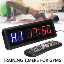 6 битные светодиодные часы для фитнеса и тренировок 15 дюйма