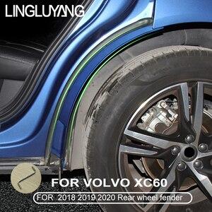 Image 4 - Für volvo xc60 hinten rad fender 2018 2019 XC60 spezielle hintere tür hinten rad fender änderung auto zubehör kotflügel 2020