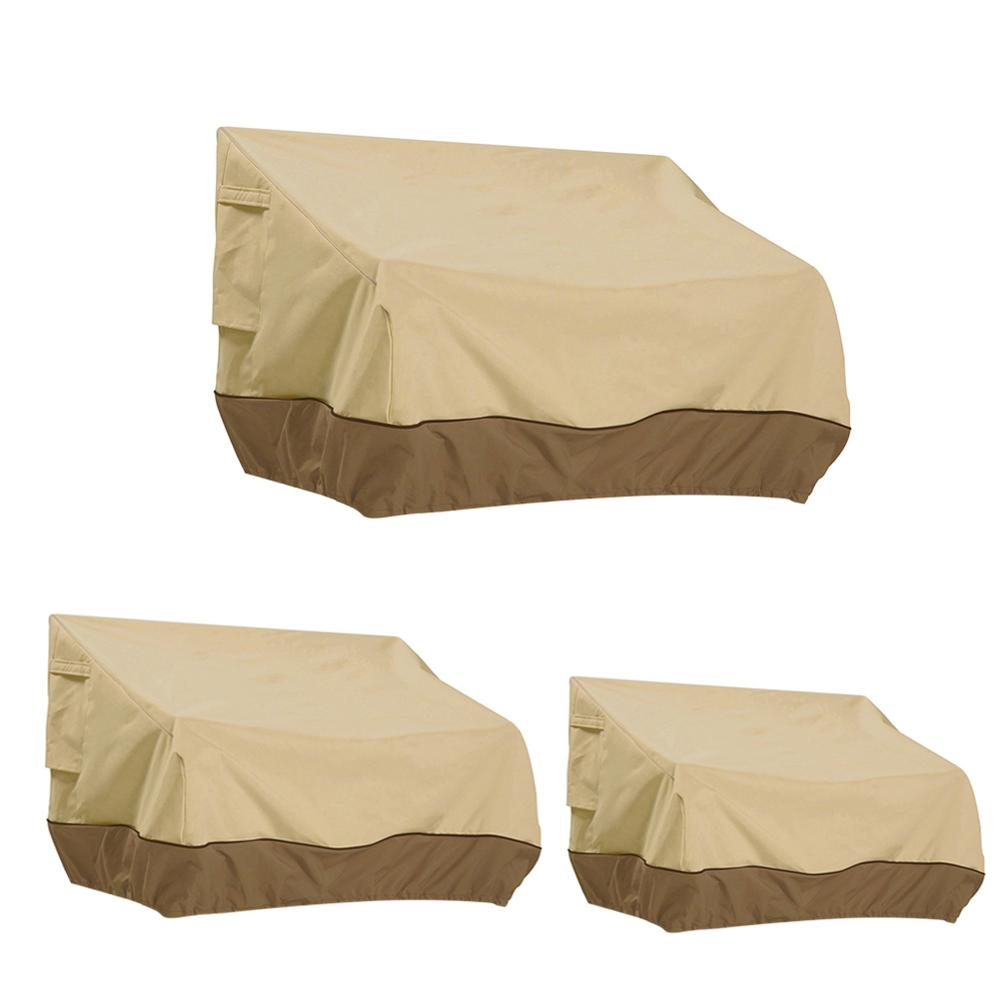 Outdoor Sofa Chairs Cover Garden Furniture Dustproof Waterproof Protector  Breathable Oxford Cloth Balcony Sofa Protective Case