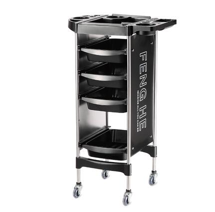 New Style Hair Salon Trolley Multi-function Hair Salon Bar Barbershop Ironing And Dyeing Trolley