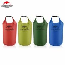Naturehike 5/15/20L Waterproof Bag Storage Dry Bag for Canoe Kayak Rafting Sports Outdoor Camping Travel Kit Equipment free ship цена