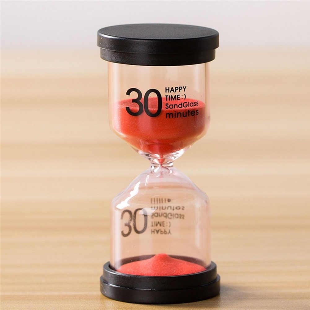 Casa Kid Presente Ampulheta Temporizador Da Areia Decorativa 5/10/15/30 Minutos Areia Relógio Temporizador Da Cozinha Ornamentos enfeites de mesa