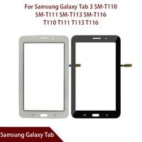 For Samsung Galaxy Tab 3 SM T110 SM T111 SM T113 SM T116 SM T114 T110 T111 T113 T116 T114 Digitizer Sensor Glass Free Shipping|Tablet LCDs & Panels| |  -