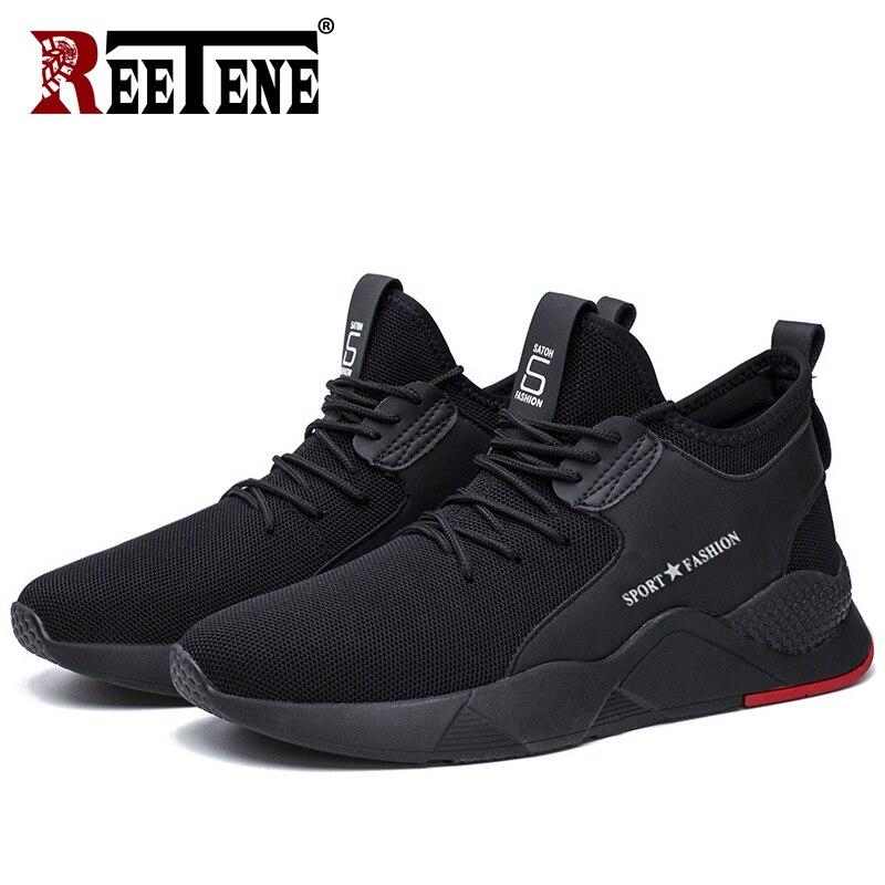 REETENE Shoes Men Sneakers Breathable Casual Men Shoes Spring Autumn Casual Men's Shoes Fashion Trainers Walking Footwear