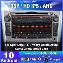 Eunavi 2 דין 4G DSP אנדרואיד רכב רדיו DVD GPS סטריאו נגן לאופל אסטרה H G J Vectra antara Zafira Corsa Vivaro מריבת ודה