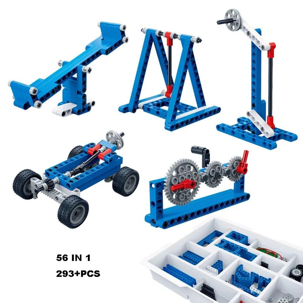 Banbao Building Blocks Stem Toys MOC 6918 Power Machine Leverage Technic Experiment Bricks Educational Model For Children Gifts