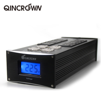 QINCROWN HIFI Power filter YY 460 power supply socket lightning protection with voltage display