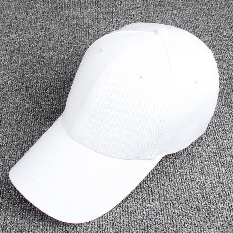Unisex Fahsion Baseball Cap Men Women Hat Mens And Womens Black Pink White Cap