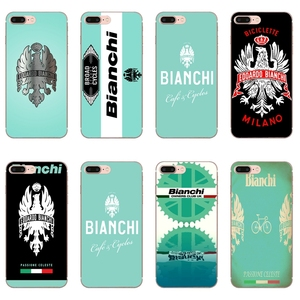 bianchi bike logo Case for iPhone 11 Pro XS Max XR X 8 7 6 6S Plus 5 5S SE Silicone Soft Cover Case(China)