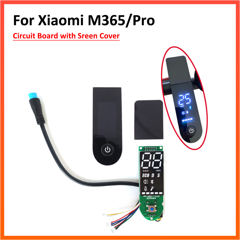Dashboard For Xiaomi Scooter M365 M365 Pro With Bt Cover Accessories Upgrade Repair Parts Scooter Parts Accessories Aliexpress