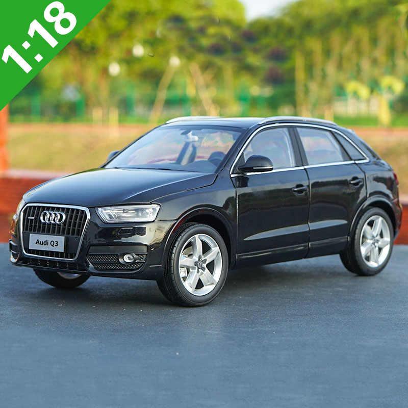 1//18 Audi Q3 Diecast Metal Model Toys Car SUV Boy Girl Gifts Brown