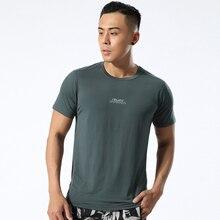 Gym Clothing Compression T-Shirts Jogger Short-Sleeve Exercise Workout Sports Men New-Fashion