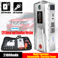21000mAh Auto Starthilfe 800A 12V Externe Auto Batterie Muiti-funktion Fahrzeug Notfall Batterie Booster Auto Starter power Bank