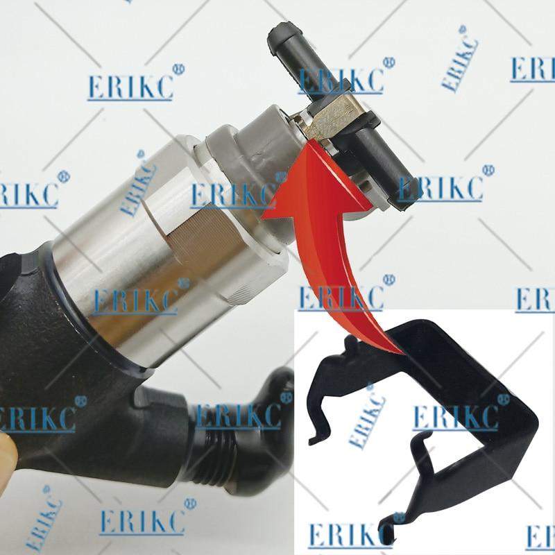 ERIKC возвратного масляного обратного T и L Тип для Bosch 110 серии дизель CR Запчасти Топливная форсунка Пластик 3 двухсторонняя Соединительная труба 10 шт./пакет - Цвет: clip for Denso