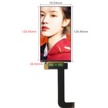 Für KLD 1260 3D Drucker LCD bildschirm 5,5 zoll 2K 1440*2560 LCD Panel display LS055R1SX03