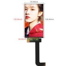 Para KLD 1260 impressora 3d tela lcd 5.5 polegada 2k 1440*2560 lcd painel de exibição ls055r1sx03