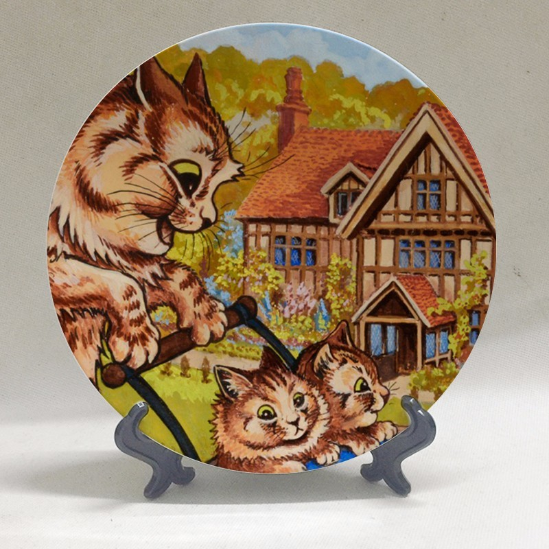 Louis Wain Art Plates at The Great Cat Store