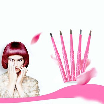 1pc Eyebrow Pencil Longlasting Waterproof Durable Automaric Eye Brow Liner Eyebrow 2 Colors Makeup Tools image
