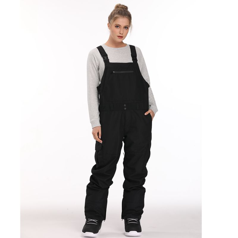 New 2018 Unsex Bib Pant For Ski Snowboarding Waterproof Overalls Windproof Snow Pants Thermal Warm Men Vintagework  Clothes -30