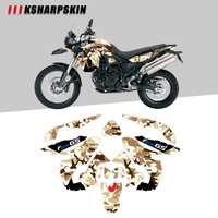 KSHARPSKIN Motorcycle front sticker waterproof protective body reflective decal decorative film for BMW F800GS F800 2008 2012