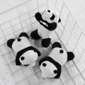 BROOCHES Stuffed Plush Girls Charm Accessary PINS Animal-Bag Panda Beautiful Trendy Kids